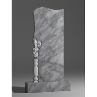 Резной памятник из мрамора коелга № 90