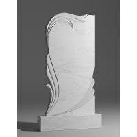 Резной памятник из белого мрамора № 106