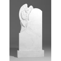 Резной памятник из белого мрамора № 132