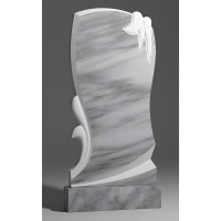 Резной памятник из мрамора коелга № 147