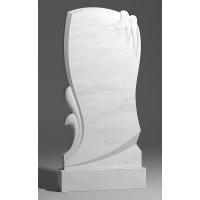 Резной памятник из белого мрамора № 147