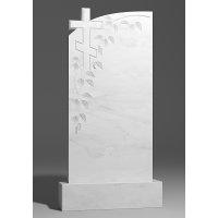 Резной памятник из белого мрамора № 148