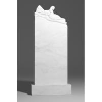 Резной памятник из белого мрамора № 151