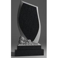Резной памятник из габбро-диабаза № 158
