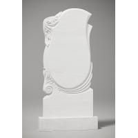 Резной памятник из белого мрамора № 163