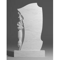 Резной памятник из белого мрамора № 197