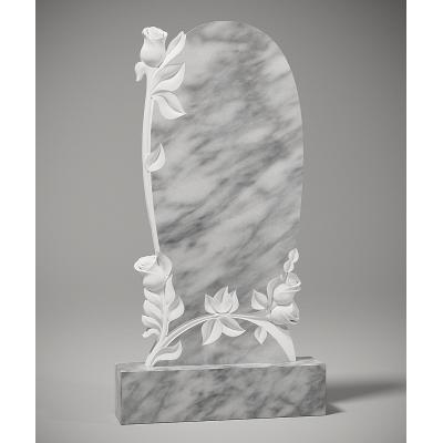 Резной памятник из мрамора коелга № 203