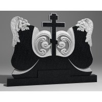 Двойной памятник из габбро-диабаза № 13