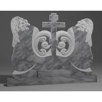 Двойной памятник из мрамора коелга № 13