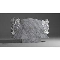 Двойной памятник из мрамора коелга № 3