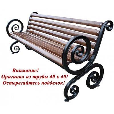 """Б-13 Скамейка Эвольвента 40 """"Антивандальная"""" 2м"""