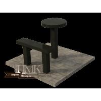 Столик/скамейка № 2