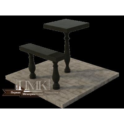 Столик/скамейка № 3
