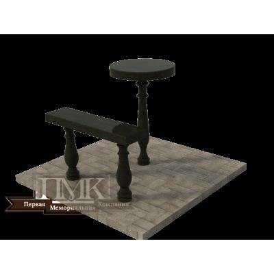 Столик/скамейка № 4