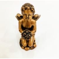 Бронзовая статуэтка ребенка