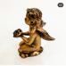Бронзовая статуэтка ребенка с крыльями ангела