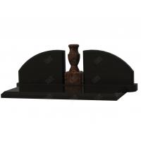 Комплекс из гранита № 8 (коричневый и черный гранит)