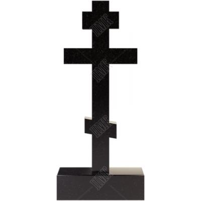 Крест из гранита 8-ми конечный на подставке