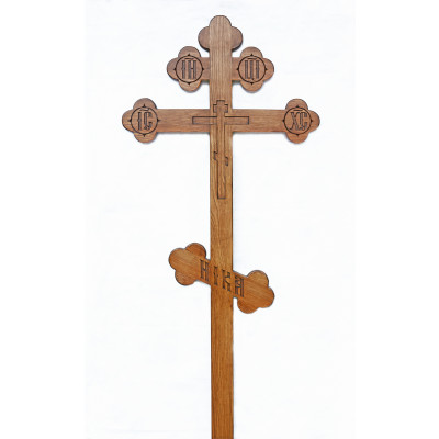 Крест из ясеня трилистниковый (арт. 8.2)