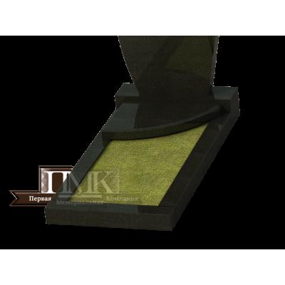 Плита надгробная N 13, с местом под лампаду